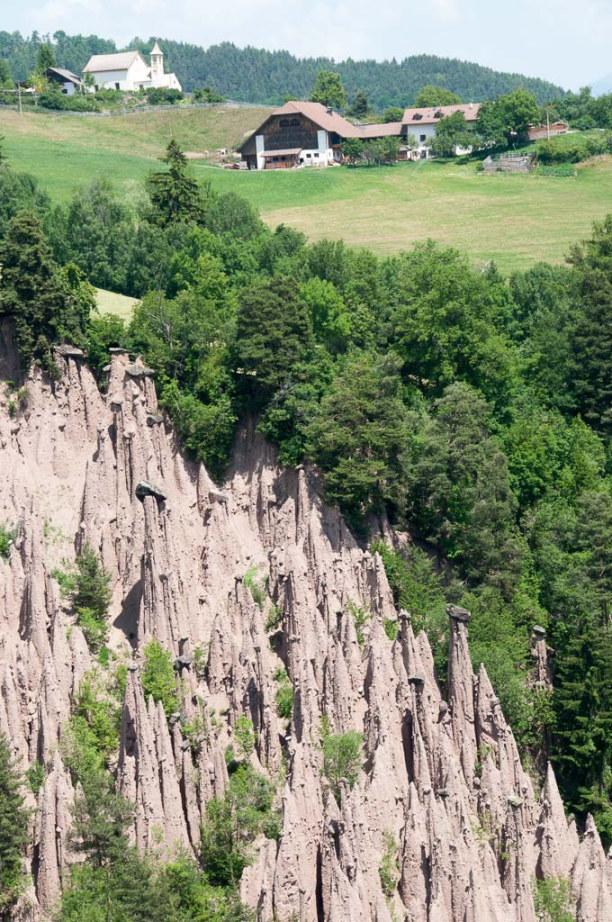 Kurzurlaub Trentino-Südtirol, Italien, Unser Ziel sind die Erdpyramiden.