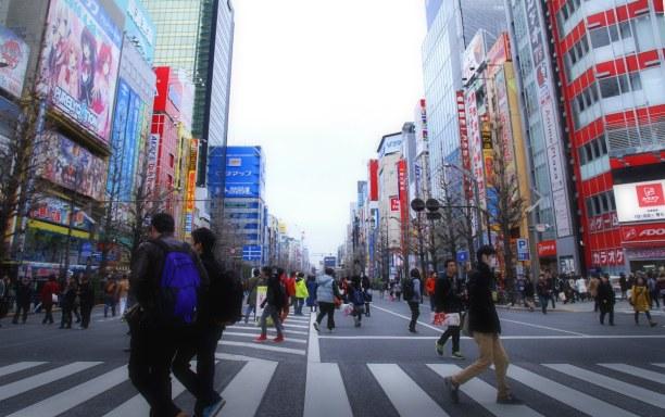 2 Wochen Honshu, Japan, Akihabara