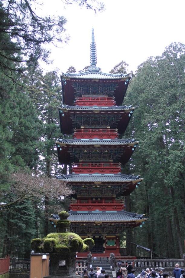 Zwei Wochen Honshu, Japan, Nikkō
