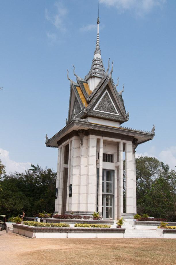 Kurzurlaub Kambodscha, Kambodscha, Außerhalb der Stadt kann eine weitere Gedenkstätte besucht werden.
