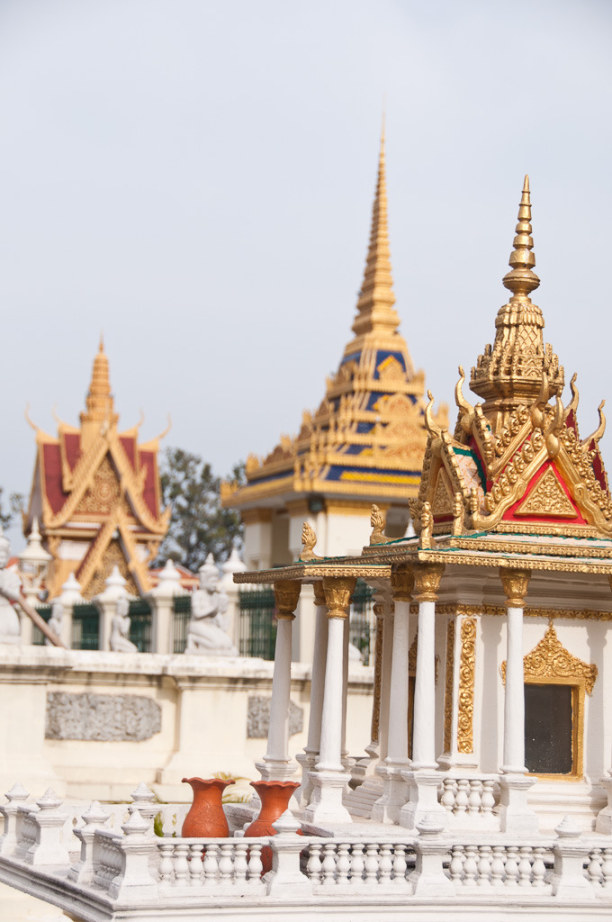 Kurzurlaub Kambodscha, Kambodscha, Die meisten Gebäude des heutigen Königspalastes wurden Anfang des 20