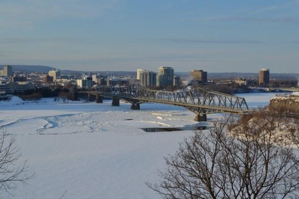10 Tage Quebec, Kanada, Ottawa... mit einem wunderschönem Ausblick.