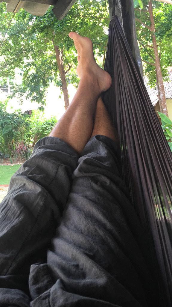 10 Tage Ko Phangan (Stadt), Koh Samui und Umgebung, Thailand, Jeden Tag die Füße hochlagern wird mit der Zeit langweilig. Es wird