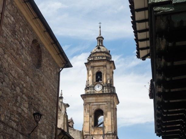 Langzeiturlaub Bogotá (Stadt), Kolumbien, Kolumbien, Die Innenstadt von Bogotá sieht aus als würde man durch eine europä