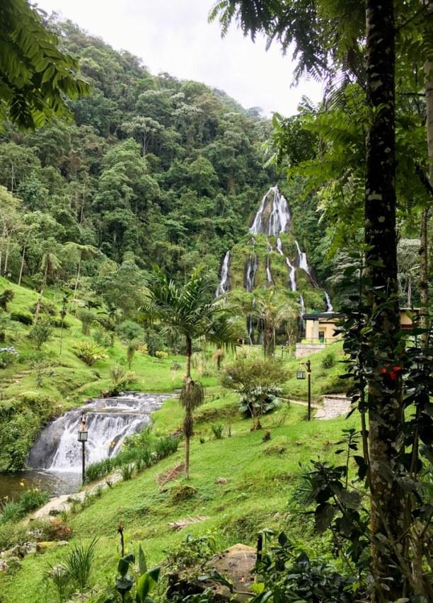 Kurztrip Filandia (Stadt), Kolumbien, Kolumbien, Auch hier gibt es heiße Quellen - und hier verbringe ich einen ganzen