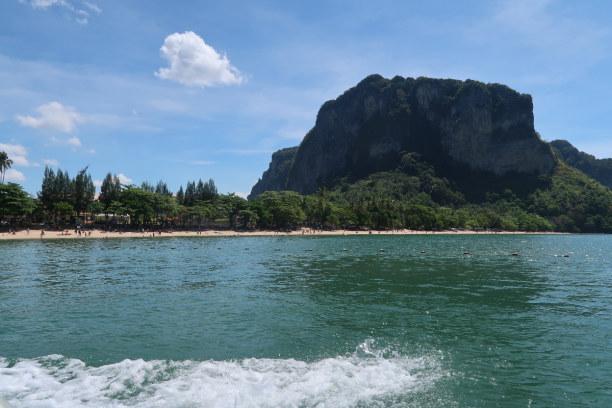 Kurztrip Ao Nang Beach (Stadt), Krabi, Thailand, Strand von Ao Nang