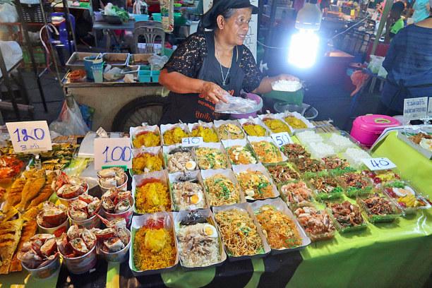 Kurzurlaub Ao Nang Beach (Stadt), Krabi, Thailand, Nachtmarkt in Krabi Town