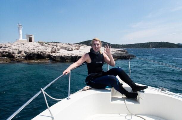 10 Tage Murter (Stadt), Krk und nordadriatische Inseln, Kroatien, Mit der Tauchschule Najada Diving in Murter lässt sich die Unterwasse