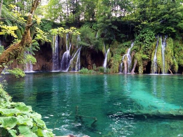 Eine Woche Adriatische Küste, Kroatien, Plitvice Lakes National Park