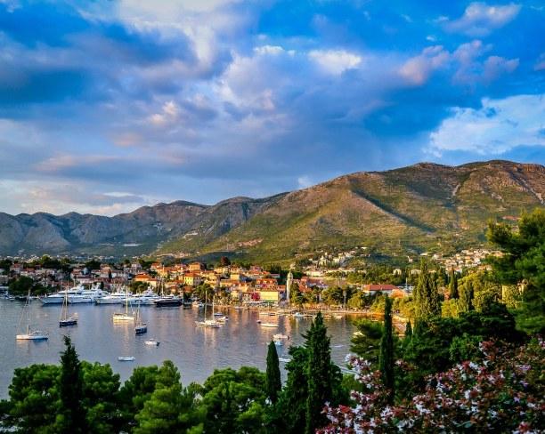 Eine Woche Adriatische Küste, Kroatien, Cavtat ist eine kleine Ortschaft südlich von Dubrovnik und hat knapp