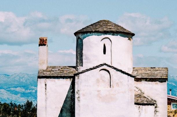 """Eine Woche Adriatische Küste, Kroatien, Ein Highlight in Nin: Die Heilig-Kreuz-Kirche, die """"kleinste Kathedr"""