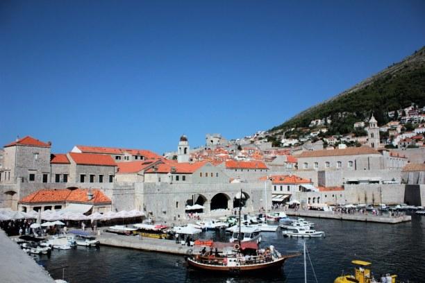 10 Tage Adriatische Küste, Kroatien, Dieser Teil Dubrovniks ist besonder schön. Hier im Hafen legen kleine