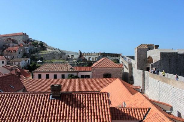 10 Tage Adriatische Küste, Kroatien, Am besten lässt sich die Stadt besichtigen, wenn man der Stadtmauer e