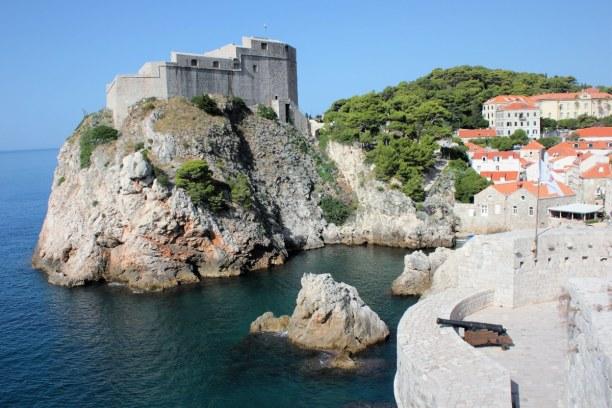 10 Tage Adriatische Küste, Kroatien, Zwischendurch kann man sich an kleinen Stadtstränden gemütlich sonne