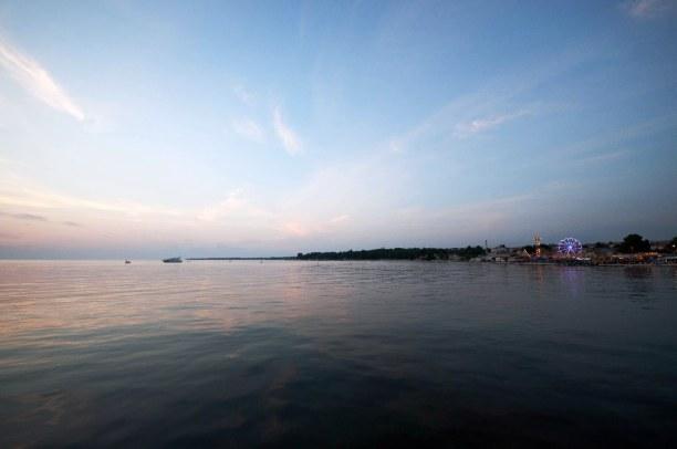 10 Tage Istrien, Kroatien, Porec hat einige schöne Strände, zum Beispiel den Strand Borik, welc