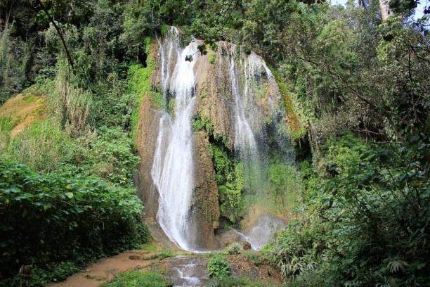 Drei Wochen Atlantische Küste / Norden, Kuba, Topas de Collantes ist ein Nationalpark auf Kuba. Hier kann man viele