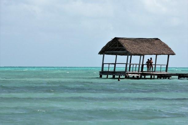 Drei Wochen Atlantische Küste / Norden, Kuba, Cayo Guillermo ist ein wahres Paradies mit türkisem Wasser und schnee