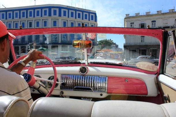 Drei Wochen Atlantische Küste / Norden, Kuba, Natürlich muss man in Havanna zumindest einmal mit einem der Oldtimer