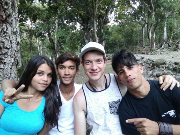 Langzeiturlaub Kuba, Kuba, Pfadfinder in der Sierra Maestra, zu zweien habe ich den Kontakt per E