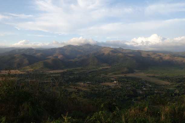 2 Wochen Kuba, Kuba, Trinidad und Umgebung von oben. Wir können es natürlich nicht lassen