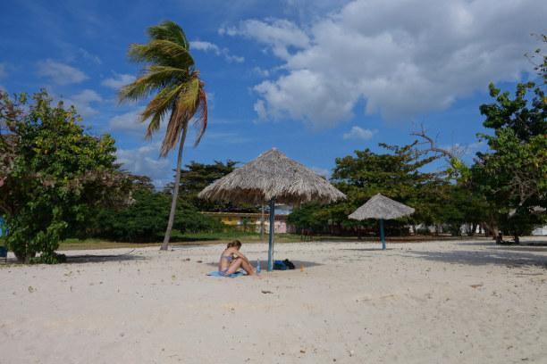 Zwei Wochen Kuba, Kuba, Auch von Trinidad ist es bis zum nächsten Strand nicht weit. Am Playa