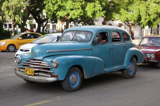 Zwei Wochen Kuba, Kuba, Am nächsten Tag ging es direkt weiter nach Havanna. Oldtimer kamen un