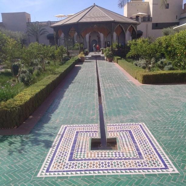Kurztrip Marrakesch (Stadt), Landesinnere, Marokko, Der geheime Garten, eine Ruheoase mitten in der Innenstadt