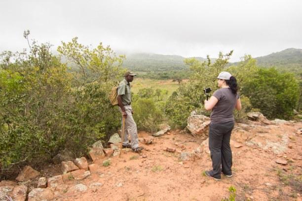 Kurztrip Soutpansberg (Stadt), Landesinnere, Südafrika, Am nächsten Tag sind wir am frühen Morgen zu einem Bushwalk aufgebro