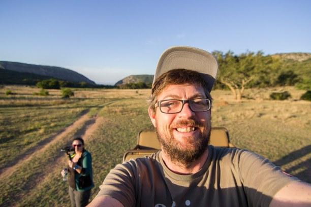 Kurztrip Soutpansberg (Stadt), Landesinnere, Südafrika, Wir waren mit einem offenen Jeep unterwegs - so kann man die Tiere am