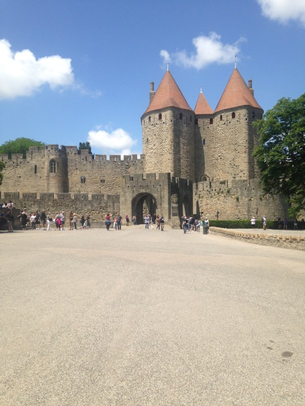 Kurztrip Carcassonne (Stadt), Languedoc-Roussillon, Frankreich, Carcassonne