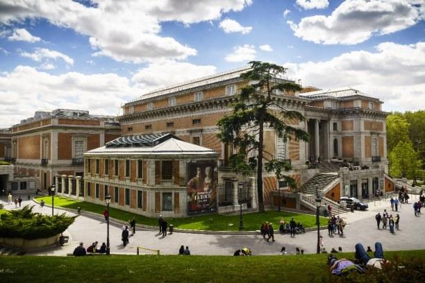 Kurztrip Madrid (Stadt), Madrid und Umgebung, Spanien, El Prado ist eines der größten Kunstmuseen der Welt. In ihm befinden