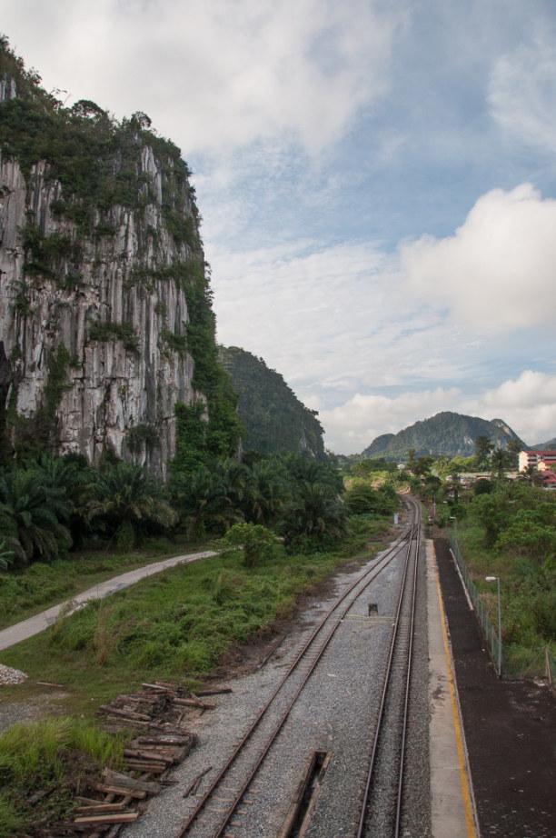 Kurzurlaub Kelantan, Malaysia, Am nächsten Morgen geht von Gua Musang meine Reise weiter.