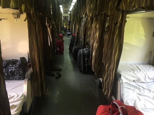 Kurzurlaub Kelantan, Malaysia, Ab Kuala Lipis führt die Reise dann mit dem Nachtzug durch die Dunkel