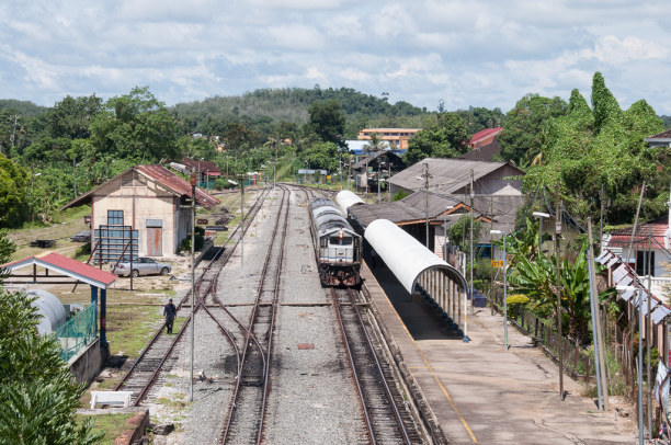 Kurzurlaub Kelantan, Malaysia, Mein nächster Stopp ist die Stadt Kuala Lipis. Wie die anderen Städt