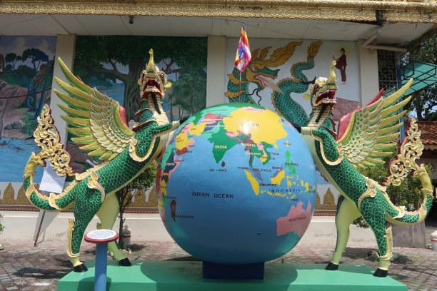 1 Woche Penang, Malaysia, Dharmikarama Burmese Temple