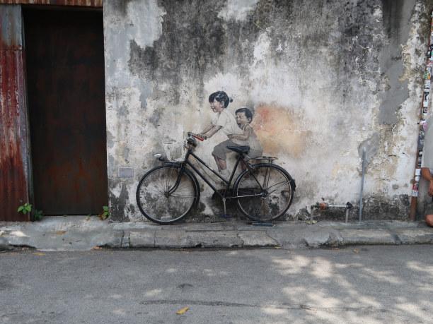 1 Woche Penang, Malaysia, Streetart