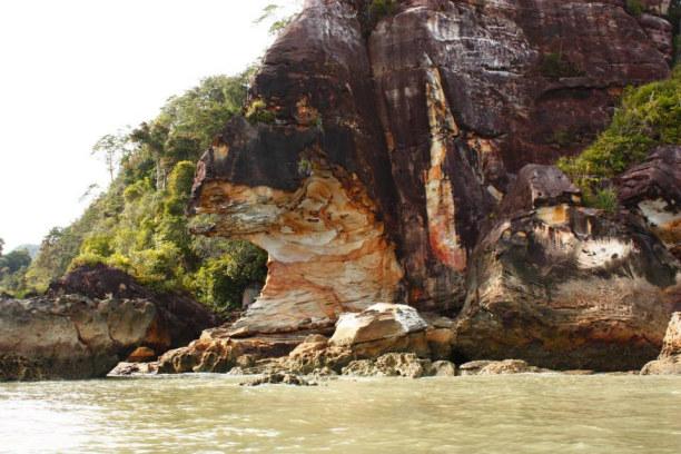 Zwei Wochen Sabah (Borneo), Malaysia,  Schildkrötenfels, Borneo