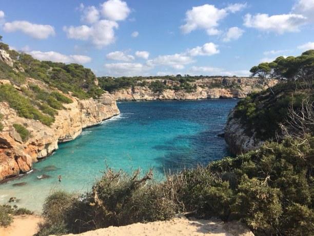 Kurzurlaub Ca's Concos (Stadt), Mallorca, Spanien, Natur pur - nur mit ein bisschen Klettern zu erreichen