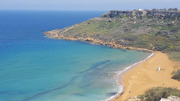 Kurztrip Malta, Malta, Die besten Sandstrände auf Malta sind St.Georges Bay, Melliha Bay, we