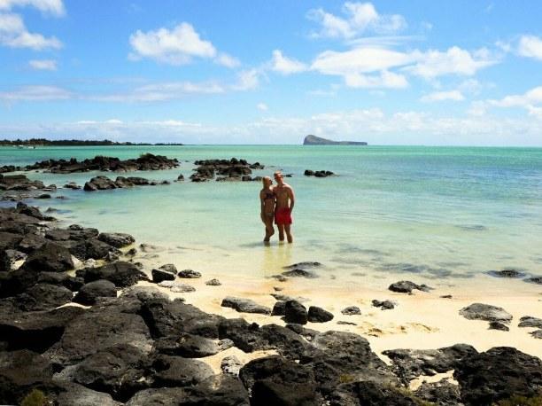 Zwei Wochen Mauritius, Mauritius, Unfassbare Farben des indischen Ozeans