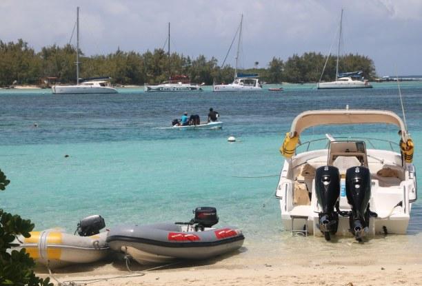 Kurzurlaub Nordküste, Mauritius, Kleine Inseln nördlich von Mauritius, nur per Boot zu erreichen