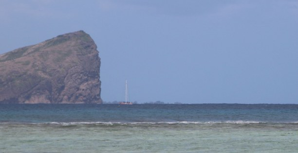 Kurztrip Nordküste, Mauritius, Blick in Richtung Coin de Mire