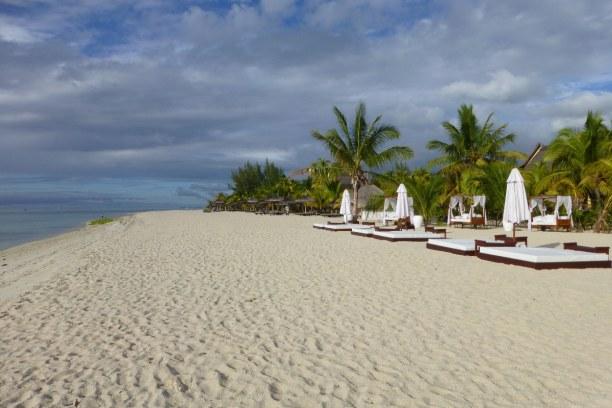 10 Tage Südküste, Mauritius, Der Hotelstrand