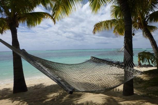 10 Tage Südküste, Mauritius, Am Hotelstrand