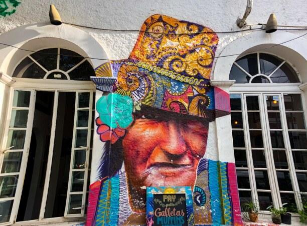 Kurzurlaub Baja California & Golf von Kalifornien, Mexiko, Eines der schönsten und detailreichsten Kunstwerke in La Paz.
