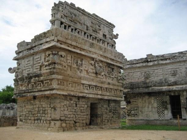 Zwei Wochen Halbinsel Yucatán, Mexiko, Chichen Itza ist eine sehr gut erhaltene Maya-Stätte in der MItte der