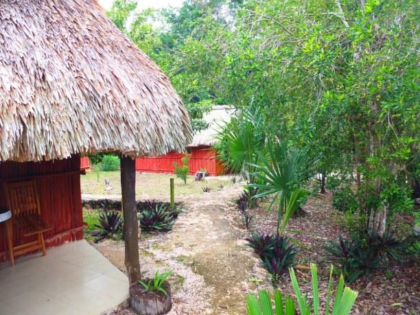 Zwei Wochen Halbinsel Yucatán, Mexiko, Die Eco Lodge Kiicham Paax im Dschungel Yucantans ist perfekt, um die