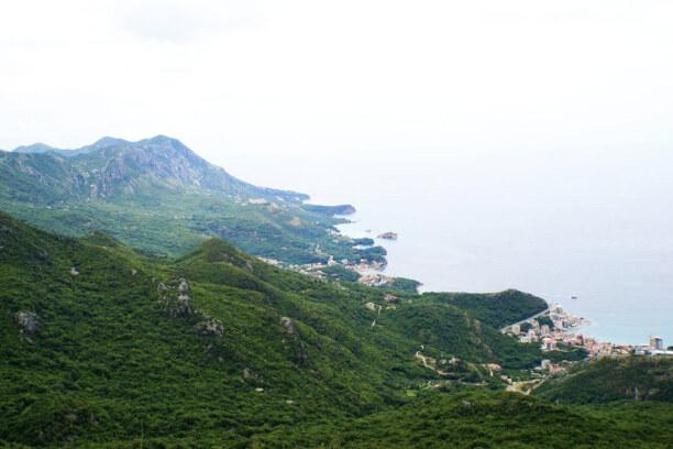 10 Tage Montenegro, Montenegro, Küste von Montenegro