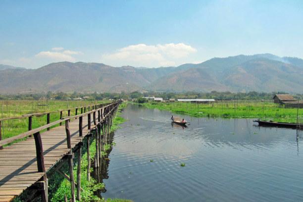 Kurzurlaub Nyaungshwe (Stadt), Myanmar, Myanmar, Am Inle Lake