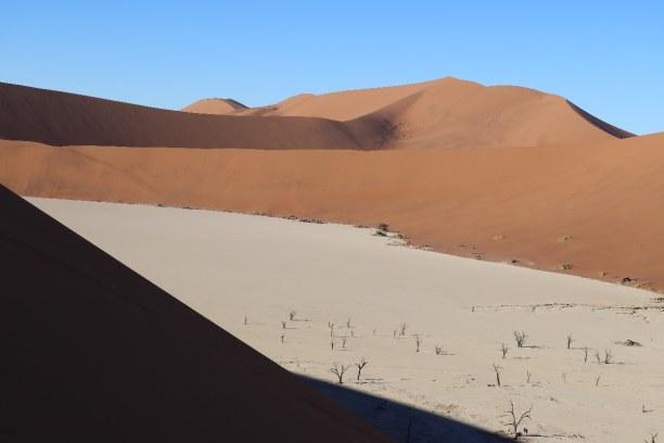 """Kurzurlaub Namibia, Namibia, Die erste Aussicht von dem Ausläufer der höchsten """"Big Daddy"""" oder """""""